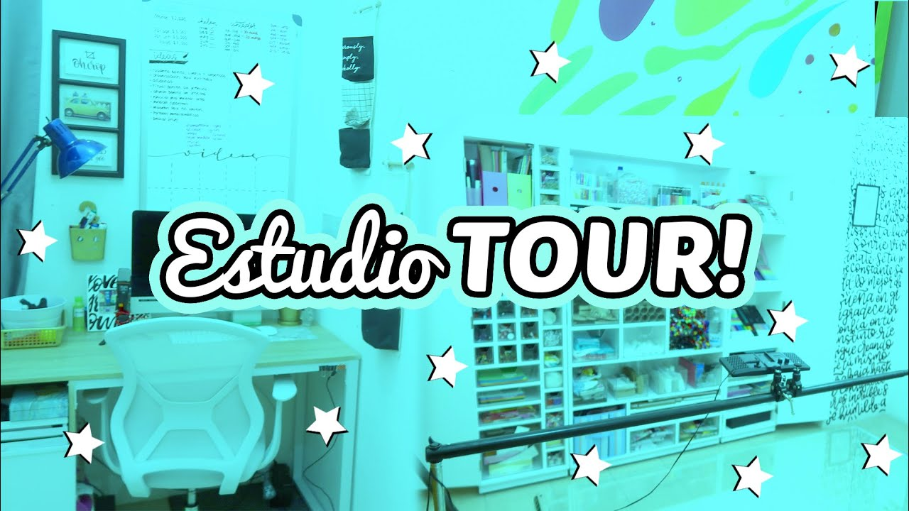 ESTUDIO TOUR!! ☻ Martes con Barbs