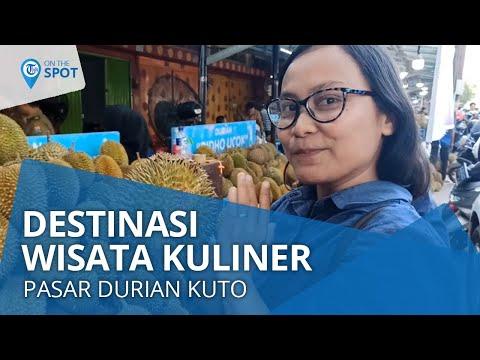 wiki-on-the-spot---pasar-durian-kuto,-destinasi-wisata-kuliner-durian-buka-24-jam-di-palembang