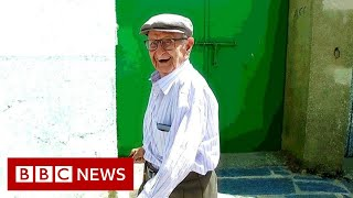 The village adapted for its ageing population - BBC News
