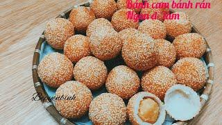 Gambar cover Cách làm bánh cam, bánh rán lúc lắc . Bếp Yên Bình.