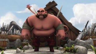 Прикольный Мультик про Викинга   ' Такооса '  Мультфильмы 2015 года  HD