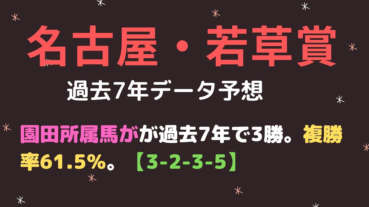 【名古屋競馬】若草賞2021予想┃過去データより園田所属馬+エスポワールシチー産駒は狙い目!