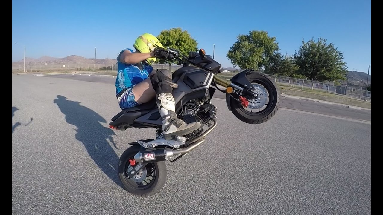 Honda Grom Review >> 2017 Honda Grom Review With Joey Mac Youtube