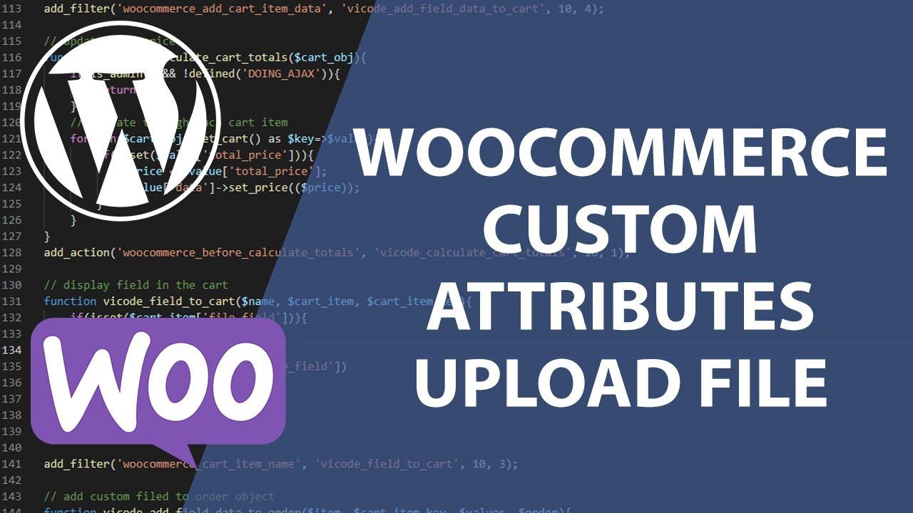 Upload File Field Attribute for WooCommerce | Create Plugin