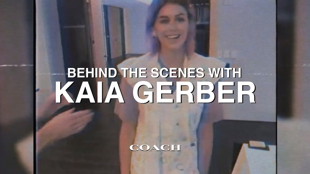 Behind the Scenes with Kaia Gerber | #CoachForever | Spring 2021