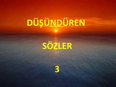 DUSUNDUREN SOZLER 3