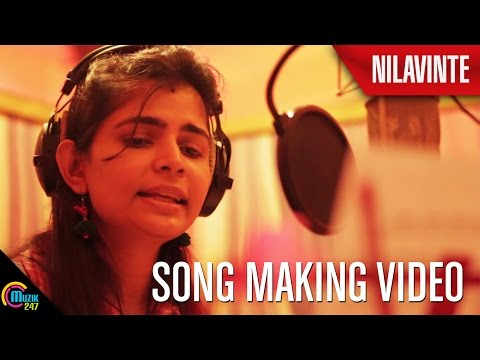 Nilavinte Song Making Video Nilathattam Music Album Ft Chinmayi