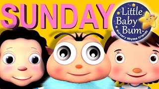 Days Of The Week Song | Nursery Rhymes | Original Song by LittleBabyBum!