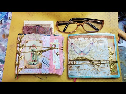 Let's Make a Junk Journal from Junk Mail Envelopes! Part 1 of 3: So Much Fun! The Paper Outpost! :)