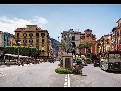 Image result for sorrento Saint Antonino Abbate statue in Piazza Tasso on pinterest