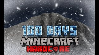 I Survived 100 Days Hardcore Minecraft On Mount Everest and Here's What Happened