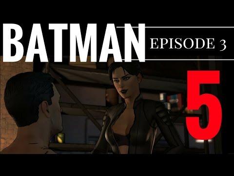 Batman - The Telltale Series - Episode 3 Part 5 - Catwoman gets Frisky! Meoww