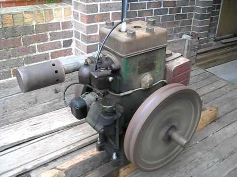 Rosebery 4HP Stationary Engine - PART 1