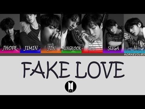 BTS - Fake Love (Türkçe Altyazılı/Turkish Subs)