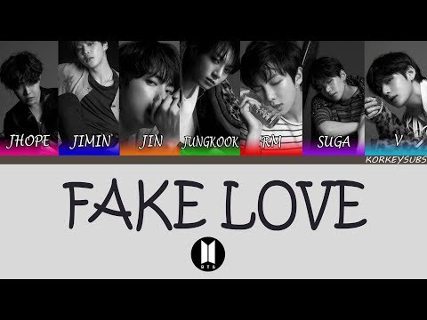 BTS - Fake Love (Türkçe Altyazılı/Turkish Subs)
