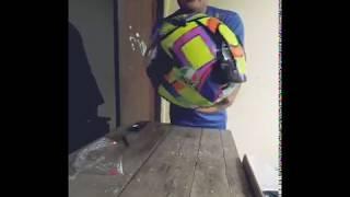 Unboxing KYT Dj maru Special edition repaint AGV soleluna.....keren pake bgt #AmateurVloger