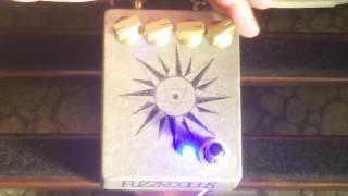 Fuzzrocious HELIOTROPIC on guitar