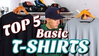 TOP 5 BASIC T-SHIRT