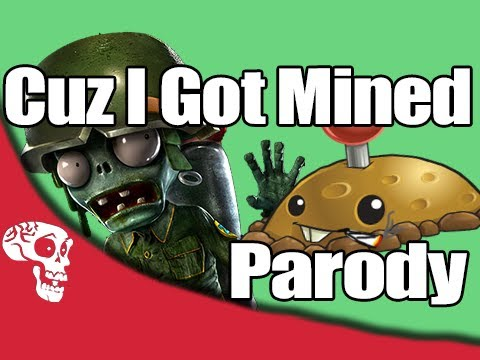 Cuz I Got Mined PVZ Song  AfroMan Parody  FREE DOWNLOAD!