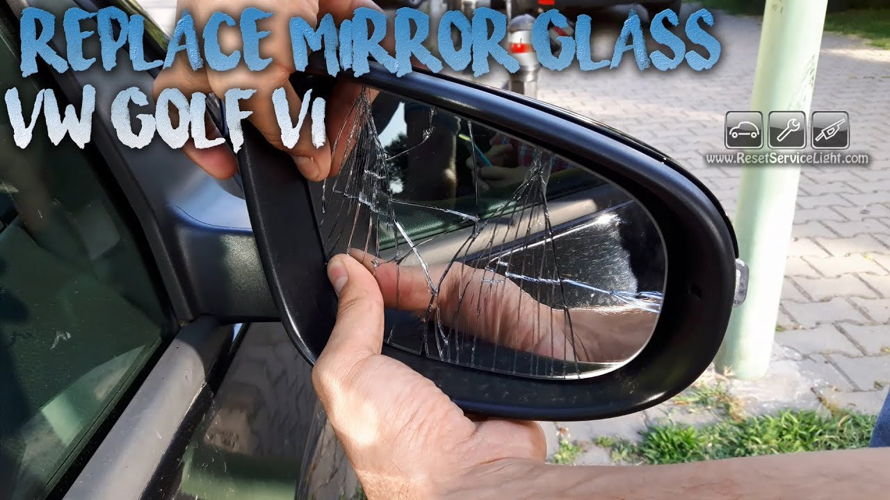 Left Hand side 2011 to 2018 Volkswagen UP Wing Mirror Glass