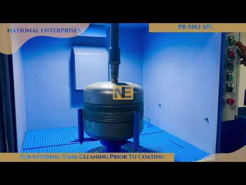 PB (Pressure Blaster) 9182 SPL For Internal Tank Cleaning By National Enterprises