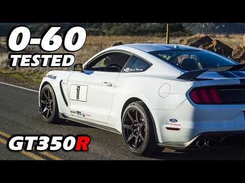 Shelby GT350R 0-60 RESULTS | Impressive For A Track Car!