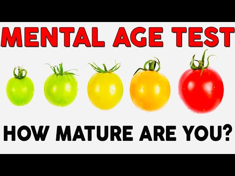 Mental Age Test   What Is Your Mental Age? | Personality Test | Mister Test