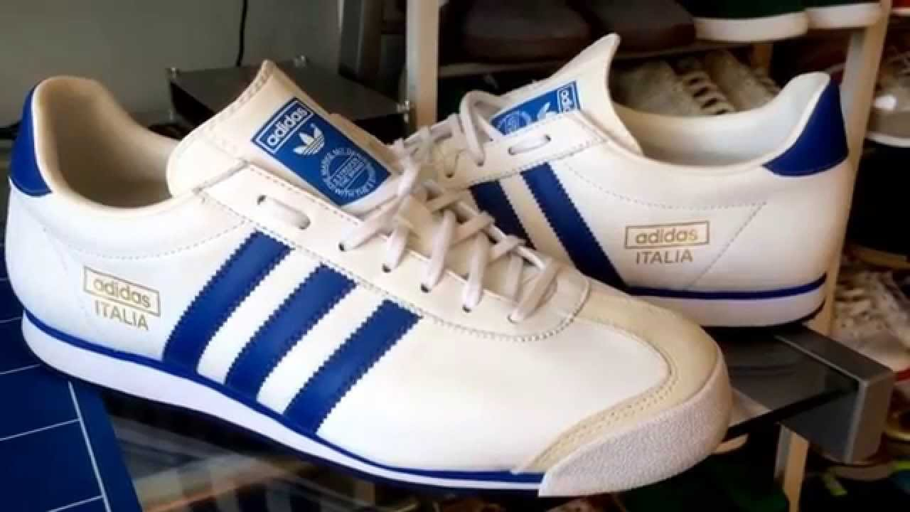 Up close: Adidas Italia 74 (whiteblue)
