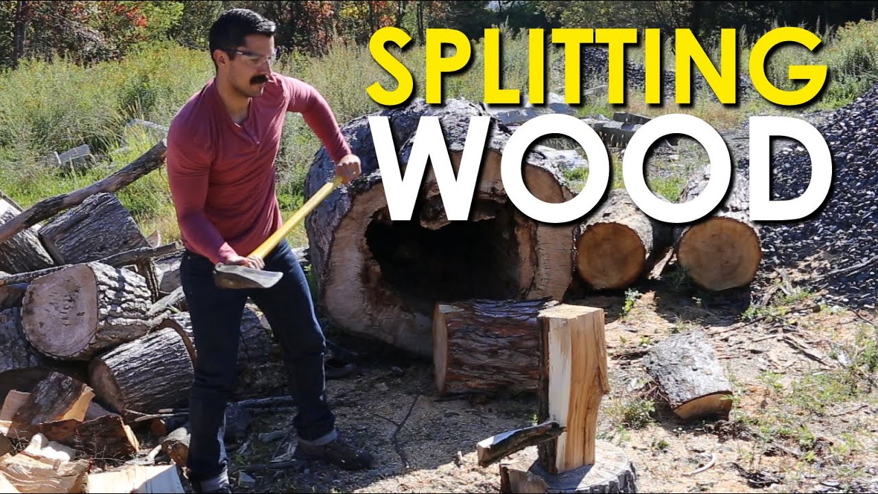 How to Split Wood | The Art of Manliness
