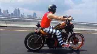 La Rakatak 507 Ride - Harley Bobber Rat Rod - By: Metro Garage Panamá