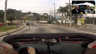 Passeio de CORVETTE no Brasil