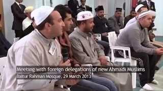 40 Araber konvertieren LIVE zur Ahmadiyya in Spanien - ISLAM Ahmadiyyat