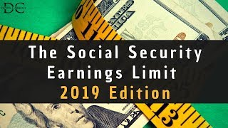 Working and Social Security: The 2019 Limits