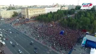 День Города с Европой Плюс Челябинск 2016 (съёмка с квадрокоптера)