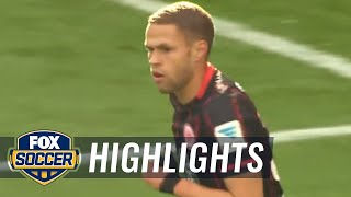 Eintracht Frankfurt vs. Hertha BSC Berlin - 2015–16 Bundesliga Highlights