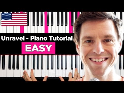 Unravel (Opening) - Piano Tutorial - very EASY