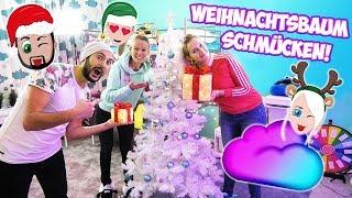 WEIHNACHTSBAUM SCHMÜCKEN mit Nina, Kaan, Kathi! Kaans 1. Weihnachtsbaum jemals! Weihnachten 2018