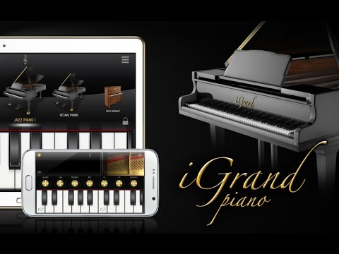 iGrand Piano for Android with iRig MIDI 2 + MIDI keyboard