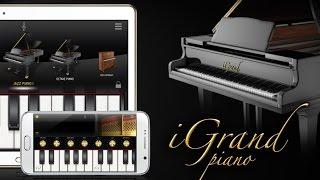 iGrand Piano for Android with iRig MIDI 2 + MIDI keyboard