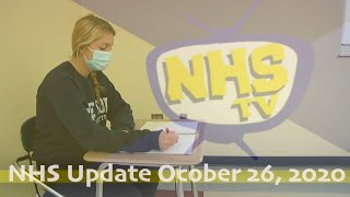 NHS Update October 26, 2020