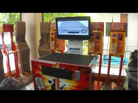 ตู้คาราโอเกะหยอดเหรียญ Karaoke Vending Kara-CT