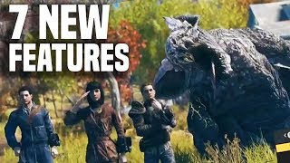 Fallout 76: 7 COOLEST NEW FEATURES! (New Gameplay PS4/Xbox One/PC)