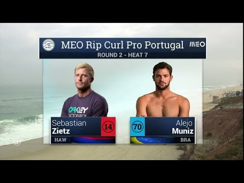 Meo Rip Curl Pro Portugal: Round Two, Heat 7