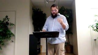 informative speech the bible