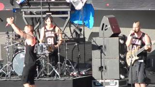 Dead By April: As a butterfly (Himos Park 2015) Live