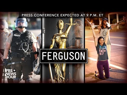Live: Ferguson Grand Jury Announcement