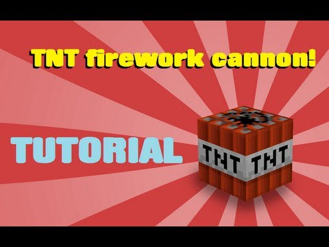 minecraft how to build fireworks