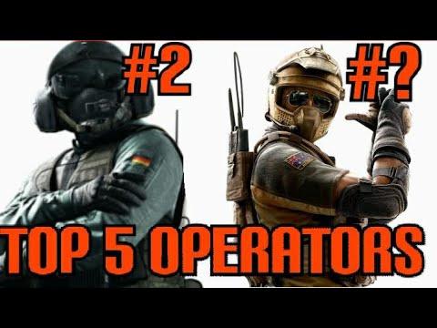 Top 5 Defenders in Rainbow Six Siege | Operator Rankings | Tom Clancy's Rainbow Six Siege |