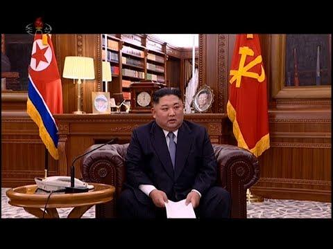Kim Jong Un's 2019 new year address