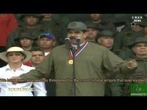 VENEZUELA PREPARES FOR WAR with U.S. Both Presidents Speech